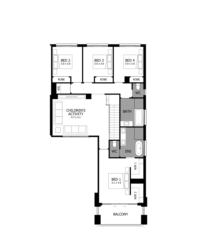 Enigma 32 Warnervale Leppington Floorplan