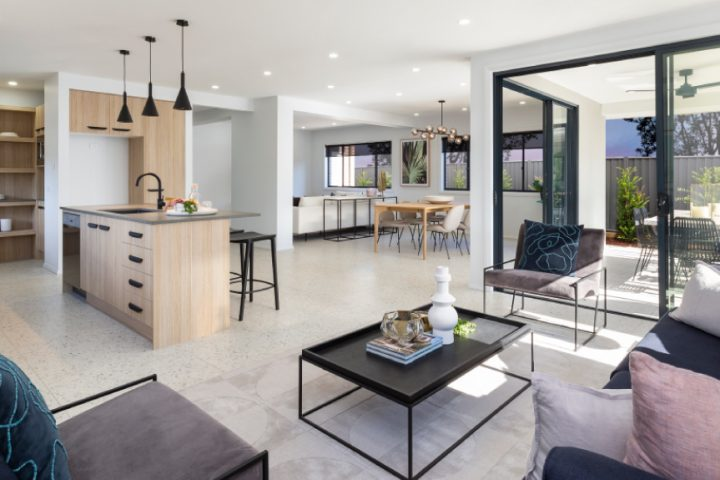 How to make the most of your open plan home